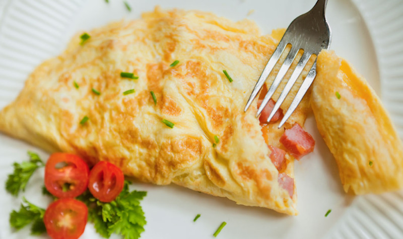Baked-Sausage-Omelet